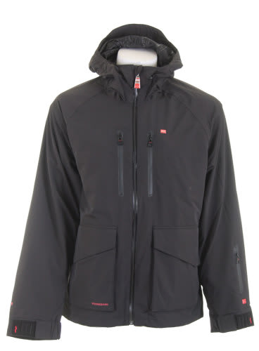 Foursquare Stevo Snowboard Jacket Black