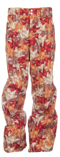 Foursquare Wong Snowboard Pants Fall Leaves