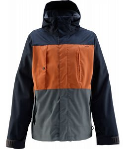 Foursquare Searle Snowboard Jacket Overcast