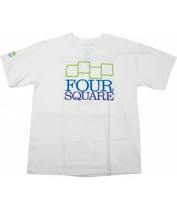 Foursquare Fsq Stacker T-Shirt White