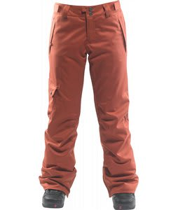 Foursquare Strut Snowboard Pants Foursquare Red
