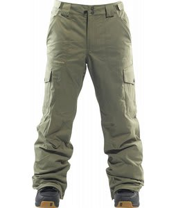 Foursquare Studio Snowboard Pants Green Beret