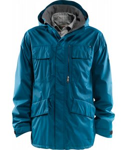 Foursquare Torque Snowboard Jacket Blue Print