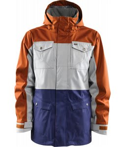 Foursquare Trade Snowboard Jacket Brick/Granite/Ink