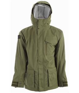 Foursquare Uprise Snowboard Jacket Green Beret