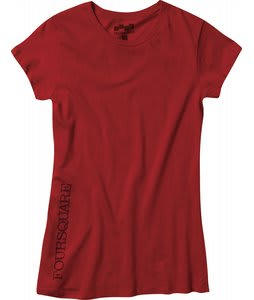 Foursquare Vista T-Shirt 186 Red