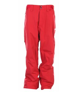 Foursquare Wong Snowboard Pants Crimson