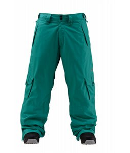 Foursquare Wong Snowboard Pants Emerald