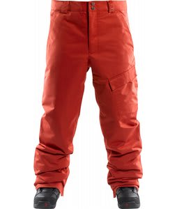 Foursquare Work Insulated Snowboard Pants 186 Red