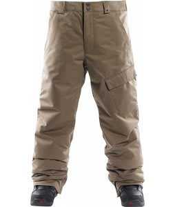Foursquare Work Insulated Snowboard Pants Walnut