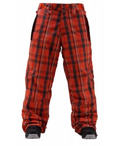 Foursquare Zino Snowboard Pants Crossroad Currant