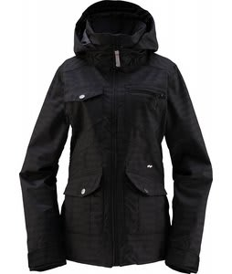 Foursquare Chrissy Snowboard Jacket Blackout