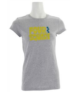 Foursquare Fourquish T-Shirt Heather Grey
