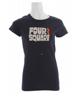 Foursquare Fourquish T-Shirt Midnight Blue