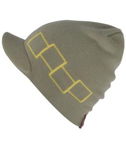 Foursquare Icon Visor Beanie Grain