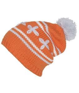 Foursquare Leaf Icon Beanie Orange Nectar