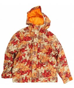 Foursquare Lil Fabian Snowboard Jacket Fall Leaves