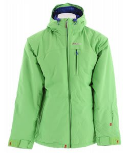 Foursquare Manfredi Snowboard Jacket Green Light