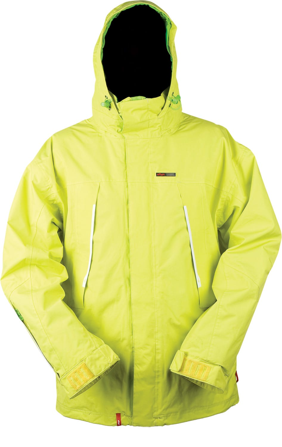 Shop for Foursquare Melnik Snowboard Jacket Citron - Men's