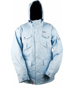 Foursquare Michaylira Snowboard Jacket Light Blue Heather