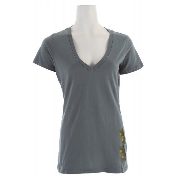 Foursquare Pixel V Neck T-Shirt