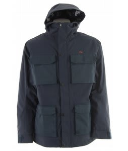 Foursquare PJ Snowboard Jacket Midnight Blue