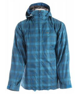 Foursquare Planner Snowboard Jacket Air Spectrum Plaid