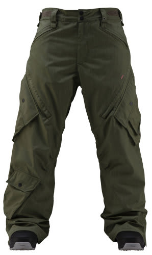 Foursquare Q Snowboard Pants Portland Pine