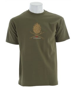 Foursquare Skull Cone T-Shirt Portland Pine