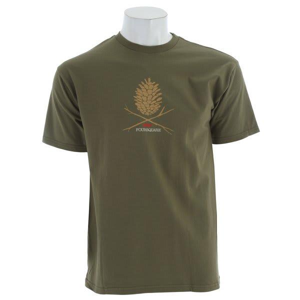Foursquare Skull Cone T-Shirt