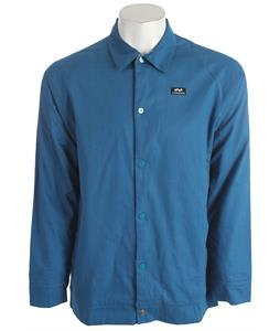 Foursquare Station Jacket Blue Print