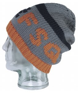 Foursquare Stripe Beanie Overcast