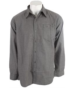 Foursquare Timber Flannel Shirt Blacktop