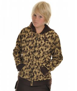 Orage Urb Hoodie Argyle Bronze 