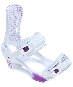 5150 Cypress Snowboard Bindings White