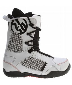 5150 Squadron Snowboard Boots White