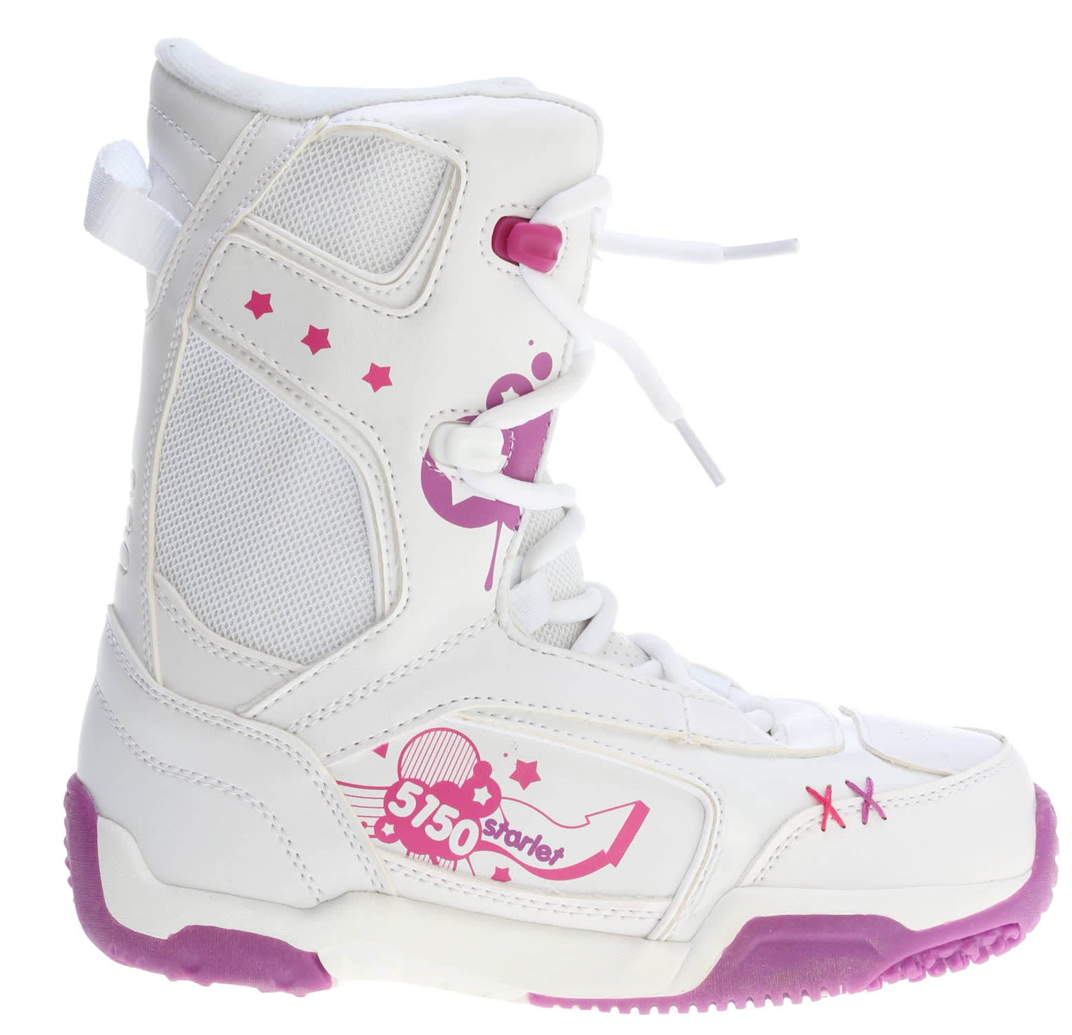5150 Starlet Snowboard Boots White - Girl's