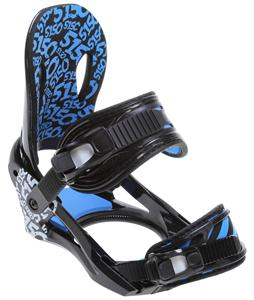 5150 Strato Snowboard Bindings Black