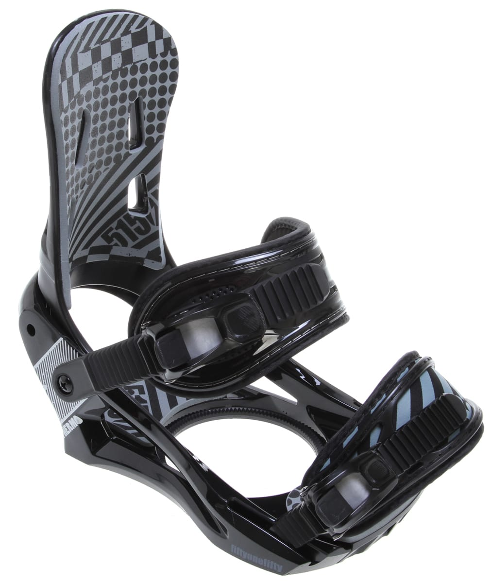 5150 Thermo Snowboard Bindings Black Mens Sz L 8-11