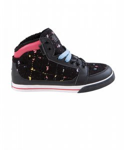 Gravis Lowdown Hi Cut Skate Shoes Black/Tweed