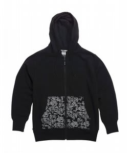 Gravis Bb Zip Hoodie Black 