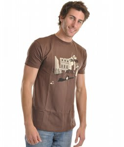 Gravis Savile Row T-Shirt Brown
