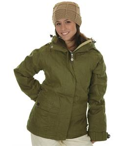 Roxy Pearl Snowboard Jacket Brown