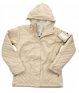 Roxy Cushion Snowboard Jacket Ivory Mini Houndstooth