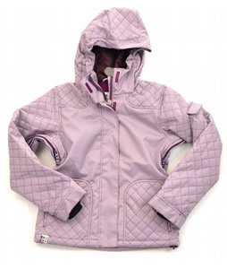 Roxy Cushion Snowboard Jacket Plum Mini Houndstooth
