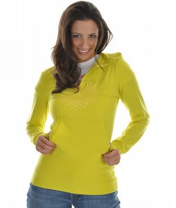 Burton Playa Hooded Thermal Top Lime Light