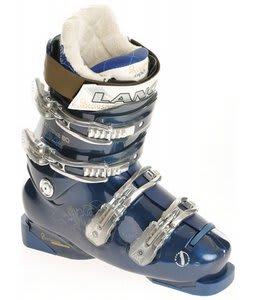 Lange Exclusive 80 Ski Boots Black/Blue Trans