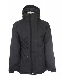 686 Acc Syndicate Insulated Snowboard Jacket Black Hound Mens