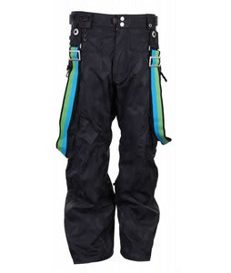 686 ACC Syndicate Snowboard Pants Black Jacquard Mens