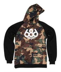 686 Airflight Icon Bonded Fleece Pullover Hoodie Hunter Canvas Camo
